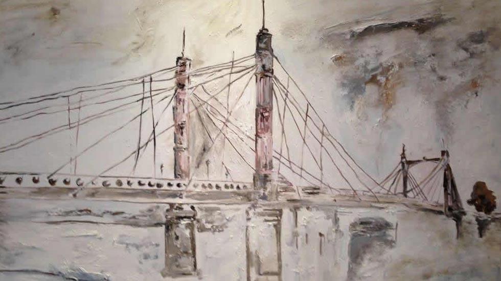 Annya Sand - Art - Chelsea Bridge - London